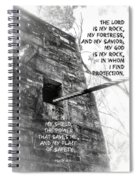 My Rock And Fortress Spiral Notebook