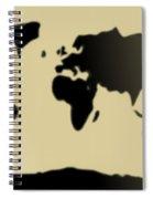 My #3 Simple World Spiral Notebook