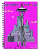 My Sleepless In Seattle Movie Poster Spiral Notebook
