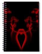 My Smoking Heart Red Spiral Notebook