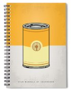 My Star Warhols 3cpo Minimal Can Poster Spiral Notebook