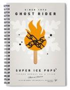 My Superhero Ice Pop - Ghost Rider Spiral Notebook