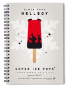 My Superhero Ice Pop - Hellboy Spiral Notebook