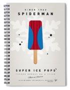My Superhero Ice Pop - Spiderman Spiral Notebook