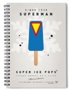 My Superhero Ice Pop - Superman Spiral Notebook
