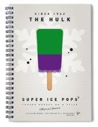 My Superhero Ice Pop - The Hulk Spiral Notebook