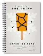 My Superhero Ice Pop - The Thing Spiral Notebook