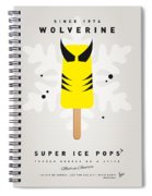 My Superhero Ice Pop - Wolverine Spiral Notebook