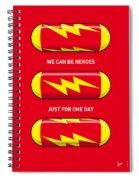 My Superhero Pills - The Flash Spiral Notebook