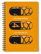 My Superhero Pills - The Thing Spiral Notebook
