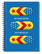 My Superhero Pills - Wonder Woman Spiral Notebook