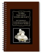 My The Bible Talks About Flowers And Plants Book Spiral Notebook