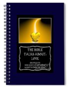 My The Bible Talks About Love Book Spiral Notebook