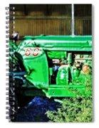 My Tractor Spiral Notebook