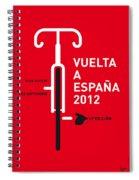 My Vuelta A Espana Minimal Poster Spiral Notebook
