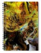 Mycelium Scene Spiral Notebook