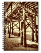 Myrtle Pier  Spiral Notebook