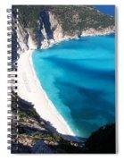 Myrtos Spiral Notebook