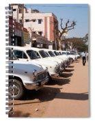 Mysore Taxis Spiral Notebook