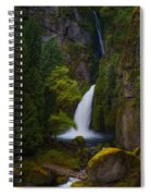 Mysteries Of Wahclella Spiral Notebook