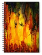 Mysterious Cave Spiral Notebook