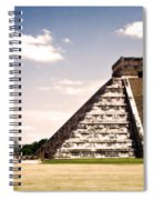 Mysterious Chichen Itza Spiral Notebook