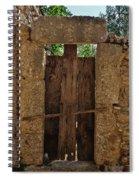 Mysterious Door Spiral Notebook