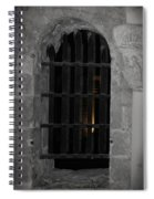 Mysterious Face In Cell Spiral Notebook