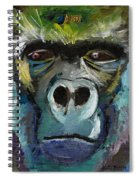 Mysterious Gorilla  Spiral Notebook