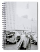 Mysterious New York Spiral Notebook