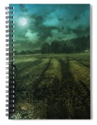 Mysterious Shadows Spiral Notebook