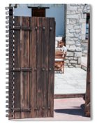 Mystery Courtyard Spiral Notebook