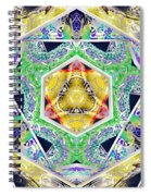 Mystery Cube Spiral Notebook