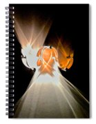 Kinetic Mysteries Spiral Notebook