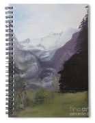 Mystery Mountains Spiral Notebook