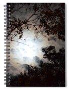 Mystery Of Moonlight Spiral Notebook