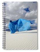Mystic Blue 11 Spiral Notebook