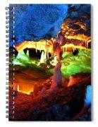 Mystic Caverns Spiral Notebook