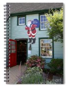 Mystic Christmas Shop - Connecticut Spiral Notebook