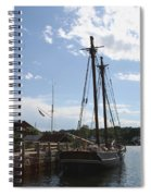 Mystic Harbor - Ct Spiral Notebook