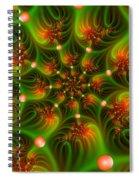 Mystic Lights Spiral Notebook
