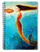 Mystic Mermaid II Spiral Notebook
