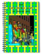 Mystic Stripers - Six Familiar Airs Poster Spiral Notebook
