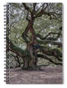 Mystical Angel Spiral Notebook