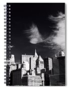 Mystical Manhattan Morning Spiral Notebook