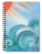 Mystical Sea Squared Spiral Notebook