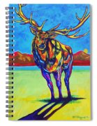 Mythical Elk Spiral Notebook