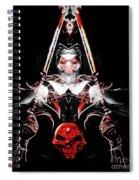 Mythology And Skulls Spiral Notebook