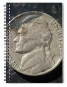 N 1957 A H Spiral Notebook