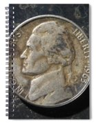 N 1963 A H Spiral Notebook